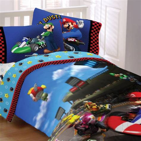mario brothers bedroom super mario twin comforter and sheet set