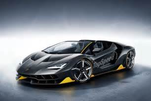 Top Speed Of A Lamborghini 2017 Lamborghini Centenario Roadster Picture 670003