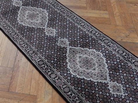 Fish Runner Rug Traditional 10 Wool Silk Mahi Fish Rug Runner Ebay