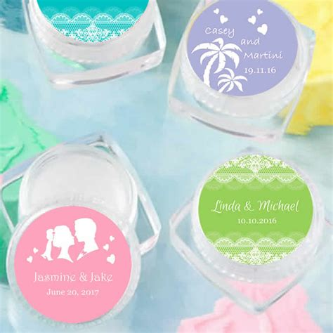 wedding favors lip balm personalized lip balm wedding favors free assembly