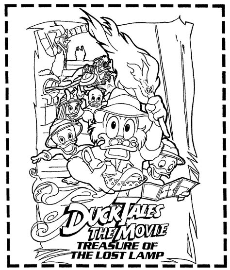 top 66 ducktales coloring pages free coloring page