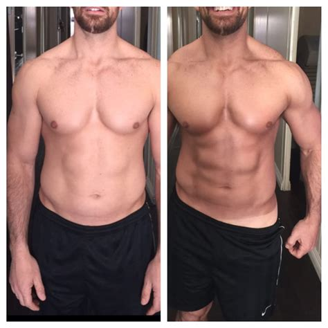 contour light body sculpting before and after male before after custom spray tanning w body