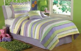 purple and green bedding for bedroom interior designing