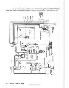 1964 mercury 500 50hp new starter ignition wiring