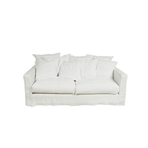 housse d assise de canap canap 233 3 places et housse blanc voil 233 canap 233 structure en