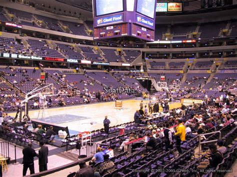 verizon center section 120 capital one arena section 119 washington wizards