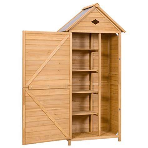 goplus outdoor storage shed yard locker storage hutch
