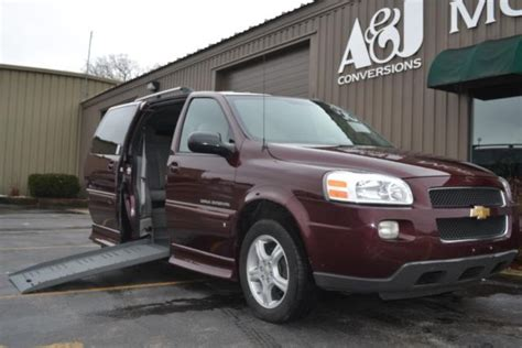 free car manuals to download 2008 chevrolet uplander electronic toll collection 2008 chevrolet uplander handicap wheelchair accessible van starting at 328 m