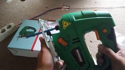test modern jigsaw m 2200l gergaji listrik