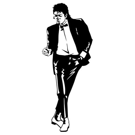 michael wall stickers michael jackson