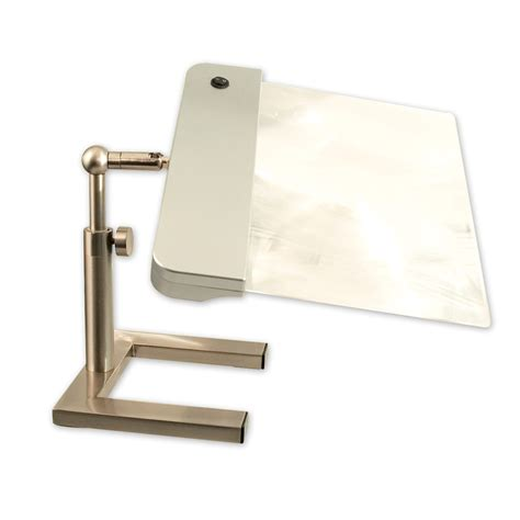 full page magnifier with light maxiaids daylight24 full page cordless led desk stand