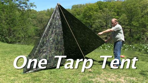 1 tarp tent with floor and door one tarp tent make a simple tent with a floor and a