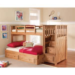 Bunk Bed With Storage Chelsea Home Wayfair