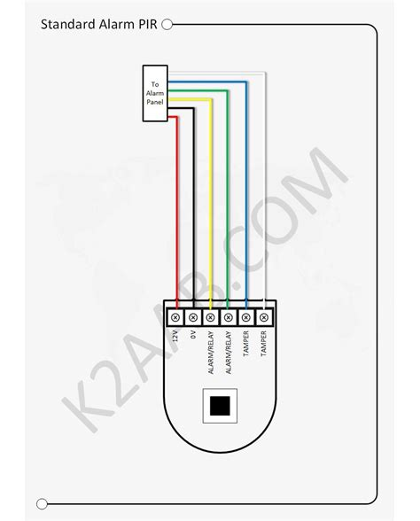 alarm pir wiring diagram 24 wiring diagram images
