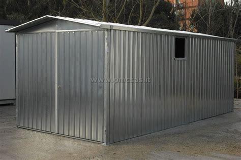 box giardino lamiera box lamiera pmc prefabbricati e arredo giardino