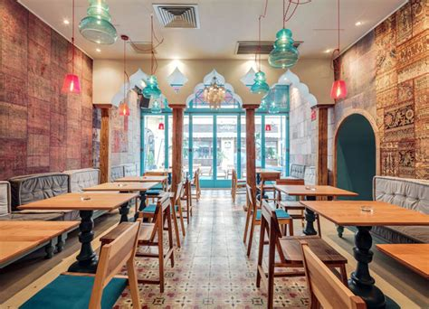 exotic oriental restaurant decor interiorzine