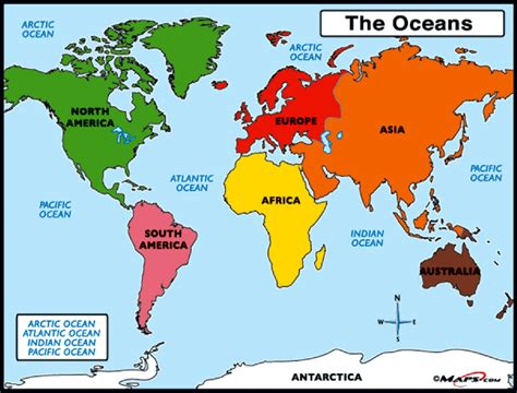 map of the oceans world and the great barrier reef ingpeaceproject
