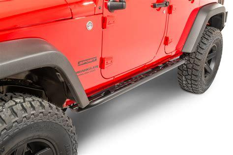 Jeep Wrangler Rock Sliders Lod Signature Series Rock Sliders For 07 17 Jeep 174 Wrangler