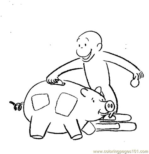 curious george coloring page pdf curious george coloring coloring page free curious