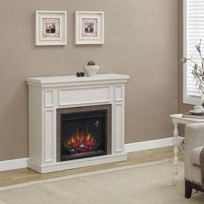 faux fireplace home decorators collection granville 43 in convertible