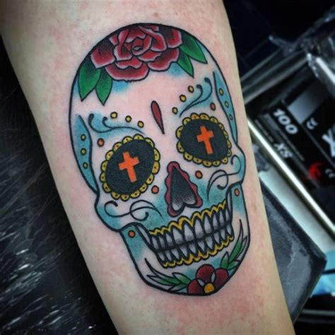 men s sugar skull tattoo 100 sugar skull designs for cool calavera ink