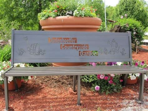 personalized garden bench custom outdoor benches by hooper hill custom metal designs