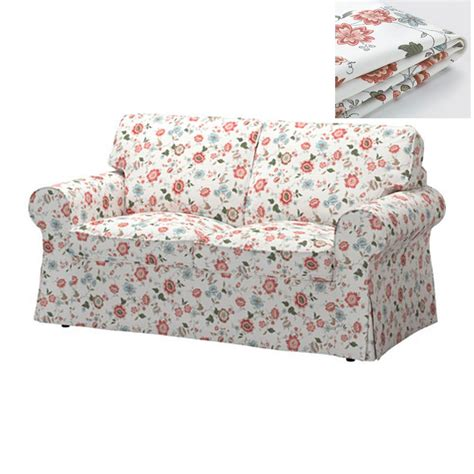 ikea floral couch ikea ektorp 2 seat loveseat sofa cover slipcover videslund