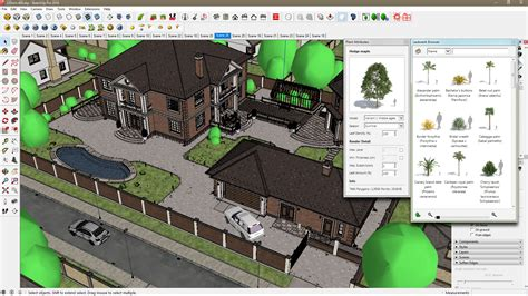Architecture Visualization by Laubwerk Sale Update And Sketchup