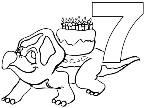 happy birthday coloring pages free printable download for