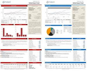 Fund Fact Sheet Template by Choose Between Five Default Fund Factsheet Templates