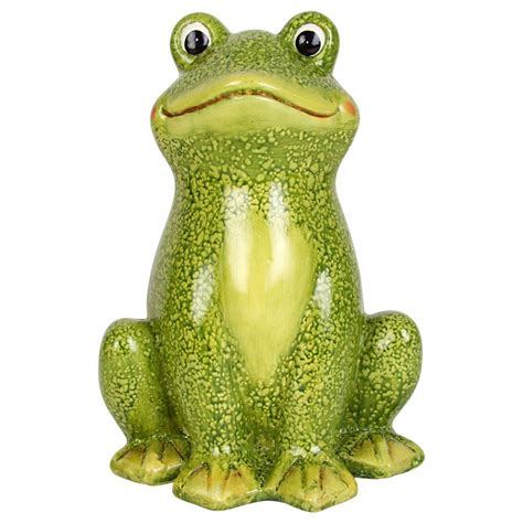 deko frosch garten philipps onlineshop sitzender deko frosch