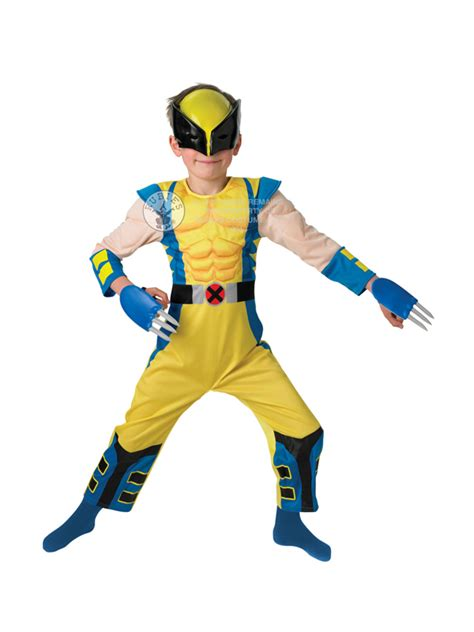 boys fancy dress and super hero costumes from the largest child marvel wolverine fancy dress costume superhero x men