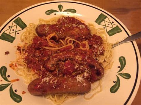 Olive Garden Breakfast by Chicken Parmigiana Spaghetti Picture Of Olive Garden