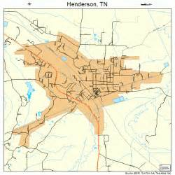 henderson tennessee map 4733260