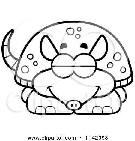 family cing coloring page sleeping armadillo