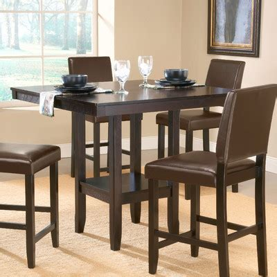 clearance counter height view all kitchen dining arcadia counter height dining table wayfair