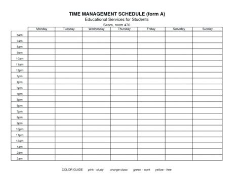 Time Management Exle For Students Spreadsheet Excel Exles Calendar Free Sheets And Time Tracking Sheet Template