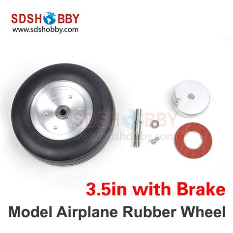 Rubber Wheel For Rc Airplane Model And Diy Robot Tires 45mm model aircraft wheels promotion shop for promotional model aircraft wheels on aliexpress