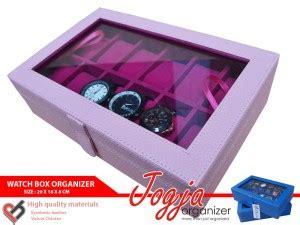 Tempat Jam Tangan Mix Aksesoris Baby Pink baby pink box organizer for 12 watches box jam tangan isi 12