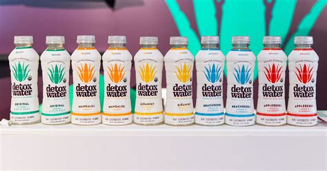 Detox Water Bioactive Aloe Water Peachberry by Expo East 2017 Detox Water Talks Brand Development