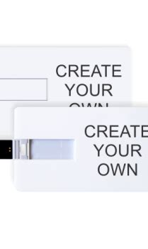 make your own credit card credit card shape pen drive in india with custom