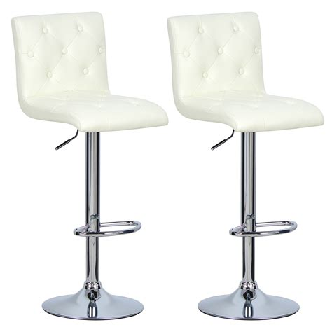 Swivel Breakfast Bar Stools 2 X Bar Stools Kitchen Chair Swivel Breakfast Stool Chrome