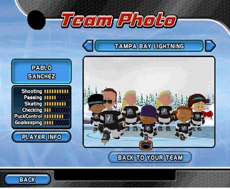 backyard hockey 2005 backyard hockey 05 team photo by raidpirate52 on deviantart