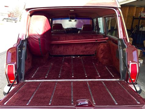 jeep wagoneer trunk 1991 jeep sj grand wagoneer is up for grabs on bring a