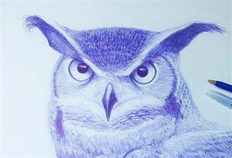 dibujos realistas buho how to draw a realistic owl como dibujar un buho