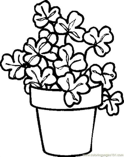 plant coloring sheet coloring home