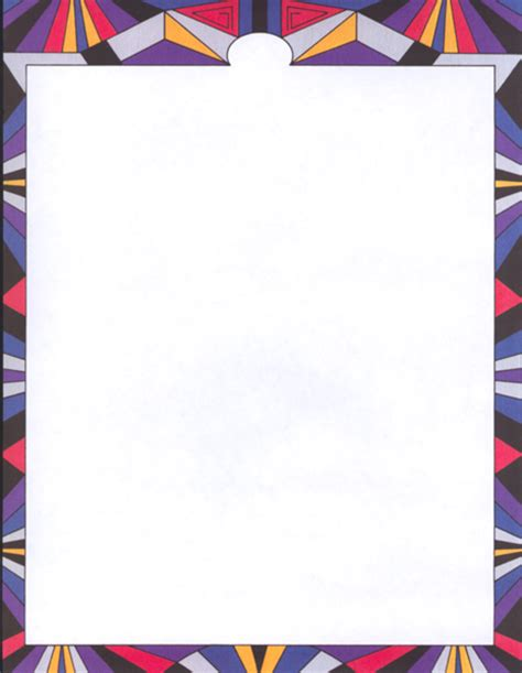 How To Make A Paper Border - paper border design clipart best