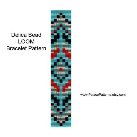 loom beading patterns designs tribal bracelet bead loom pattern by artqueenclaire craftsy