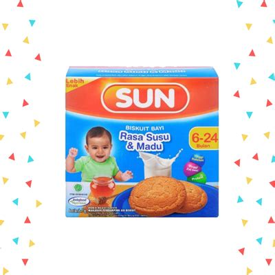 Nestle Cerelac Gd Madu 120gr sun biskuit rusk dan madu 75gr heron baby shop
