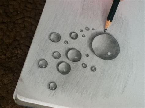 Drawing Water by Realism Challenge Water Drop Roosevelt Drawing 1